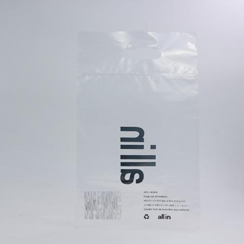透明PE广告宣传平口袋定制