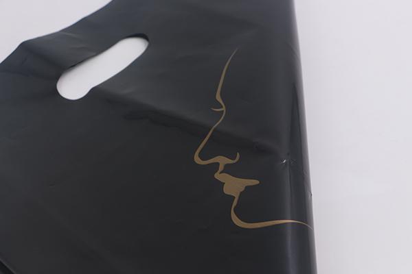 黑色PO服装平口胶袋